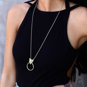 NEW Gold Statement Necklace
